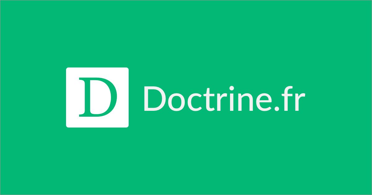 (c) Doctrine.fr